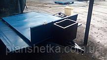 Причіп самоскид для мотоблока 180х115 з дисковими гальмами Фермер, фото 2
