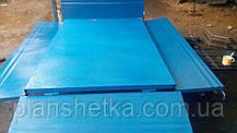 Причіп самоскид для мотоблока 180х115 з дисковими гальмами Фермер, фото 3