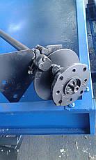 Прицеп самосвал для мотоблока 180х115 с дисковыми тормозами Фермер, фото 3