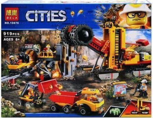 Конструктор серії CITIES Bela Територія горних експертів (Аналог Lego 60188) 919 Деталей