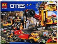 Конструктор серії CITIES Bela Територія горних експертів (Аналог Lego 60188) 919 Деталей, фото 1