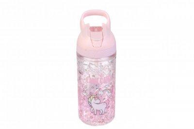 Детская бутылочка розовая Единорог