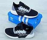Мужские кроссовки Adidas Climacool Blue, мужские кроссовки адидас климакул синие, фото 3