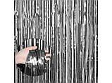 Шторка из фольги для создания фото зоны 1 х2 метра графит сатин 1713, фото 2