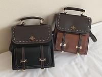 Рюкзак-сумка портфель женский ( код: R593 )