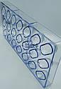 Поликарбонатная форма для шоколада Овал, форма 3D для шоколадных конфет, фото 2