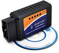 Диагностический сканер-адаптер OBD2 ELM327 v1.5 Wi-Fi цвет черный, фото 1