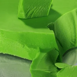 Глазур шоколадна зелена моноліт 5 кг