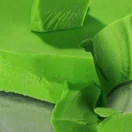 Глазур шоколадна зелена моноліт 5 кг, фото 2