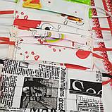 Защитная Многоразовая Двухслойная Маска для Детей с интересным принтом 100% Хлопок, фото 3