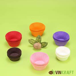 Бумажные формы для мини кексов, кейк попсов