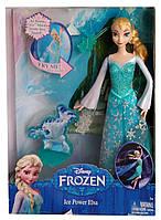 Кукла Эльза Ледяная сила Disney Elsa Frozen Ice Power Mattel