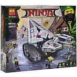Конструктор Bela серії NINJA Крижаний танк (Аналог Lego 70616) 947 дет., фото 6