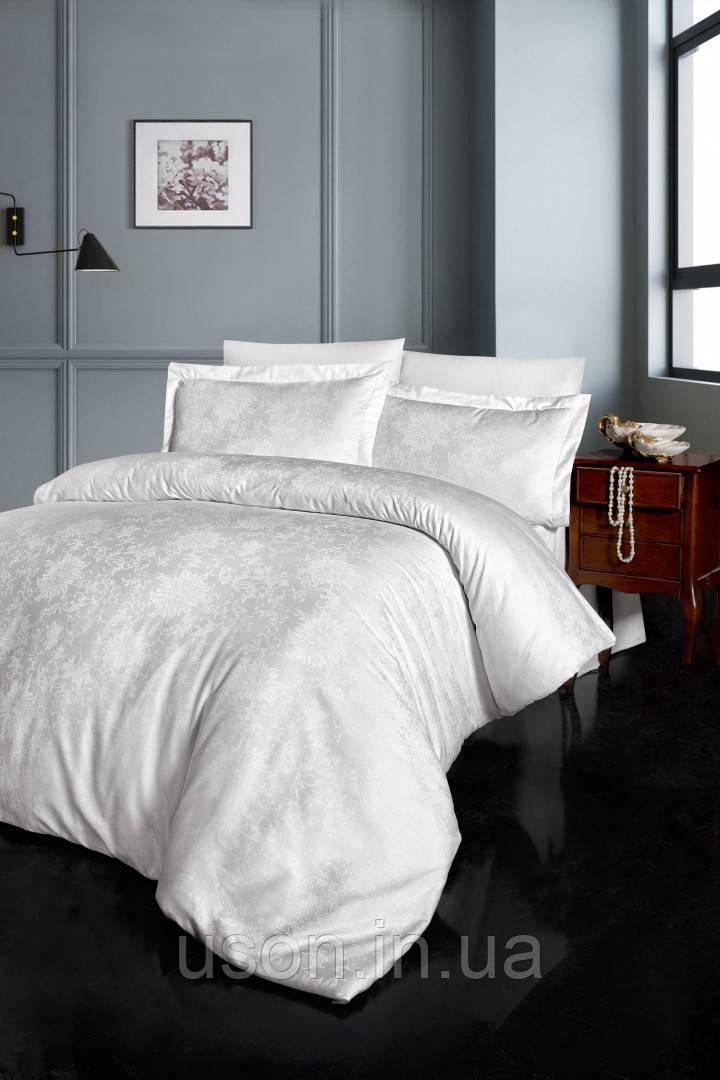 Комплект  постельного белья  жаккард superior tencel  TM First Choice  200*220 Gwen Krem