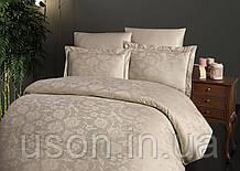 Комплект  постельного белья  жаккард superior tencel  TM First Choice  200*220 Vento S. Kahve