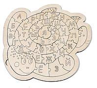 Сортер Алфавит черепаха, обучающая игрушка, развивающая игрушка