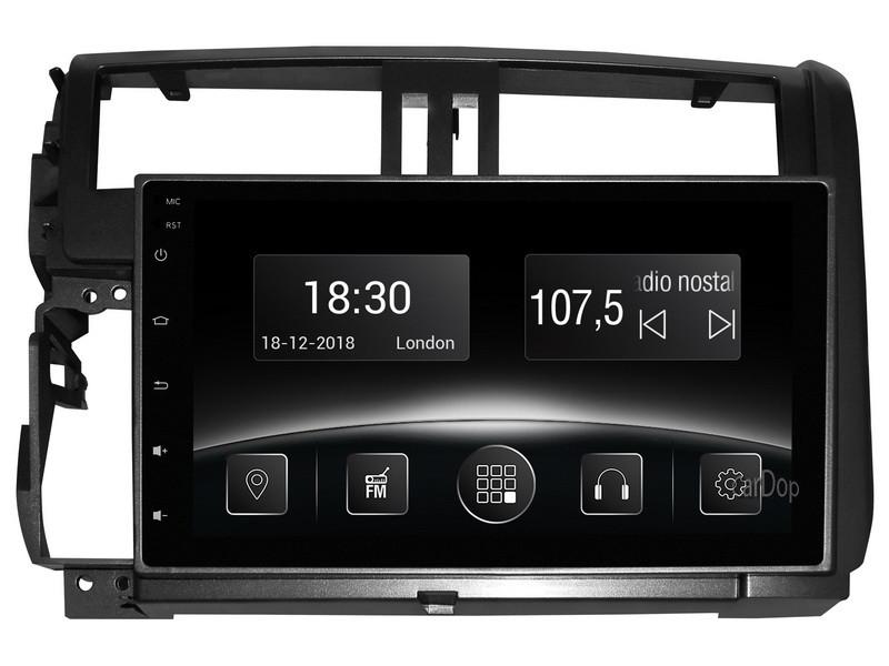 Штатная магнитола Toyota Prado 150 2010-2013 CarPlay