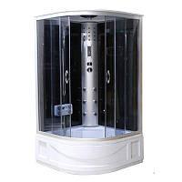 Гидробокс GM 120х120х42 тонированное стекло, глубокий поддон, GM 6410R