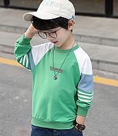 Пуловер для хлопчика весна осінь / детская одежда свитер мальчика спортивные кофты для мальчиков