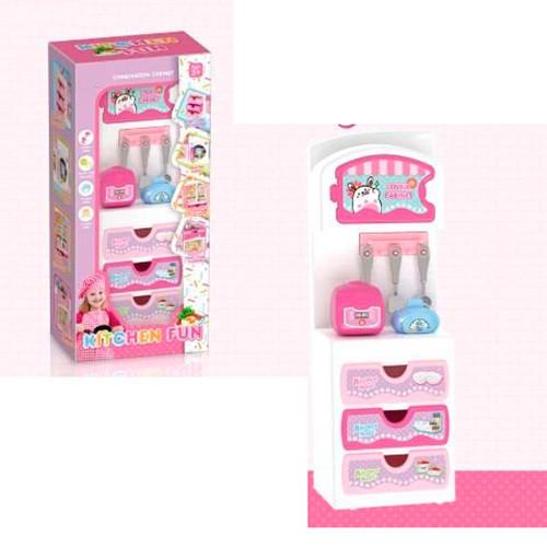 """Мебель для кукол """"Кухня"""", кухонные принадлежности, 3 вида, YQL1-1-2-3"""
