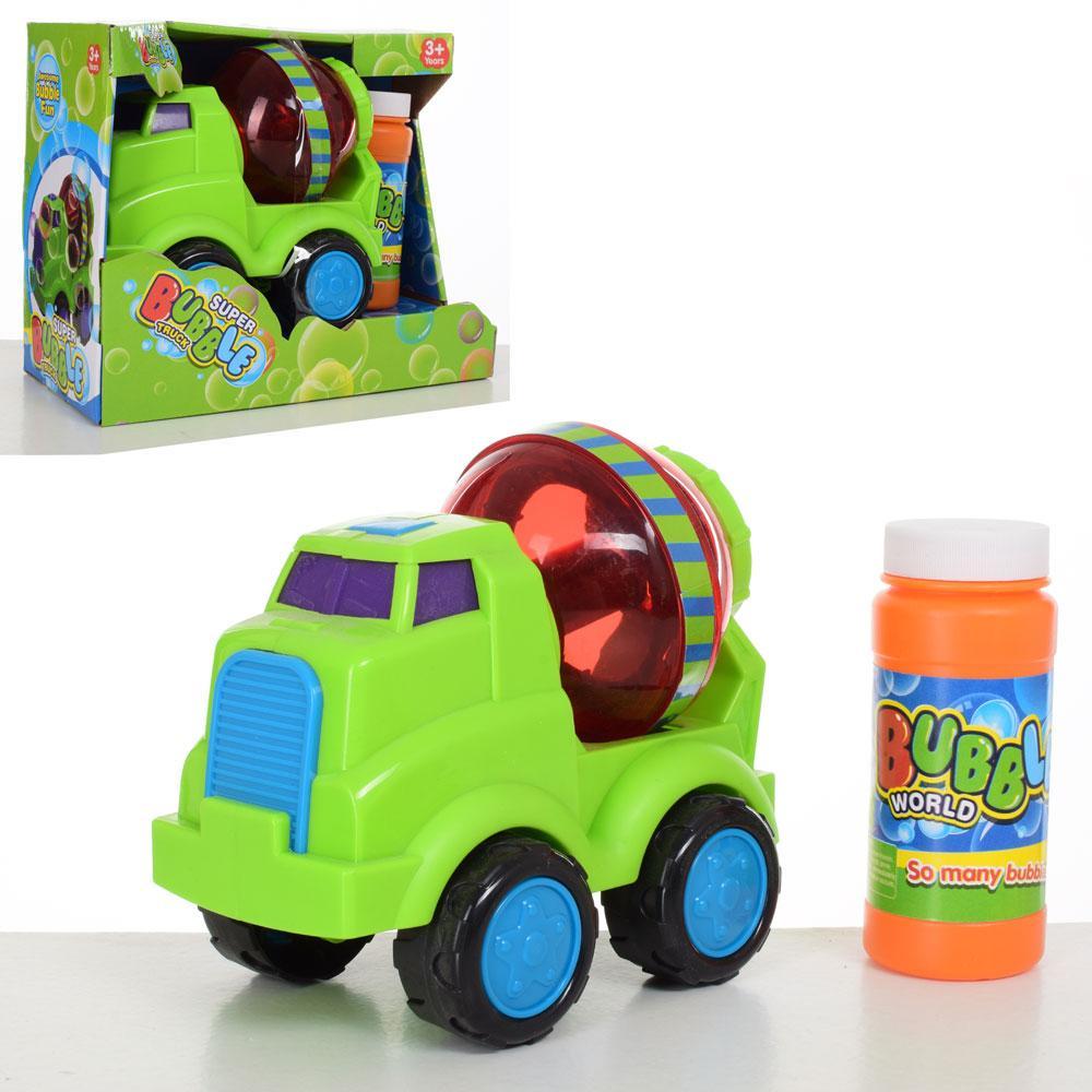 Мильні бульбашки Машинка-бетономішалка, запаска, 012