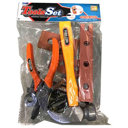 Набор инструментов, молоток, плоскогубцы, отвертка, D88-5, фото 2