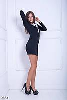 Жіноче плаття Подіум Rosewood 9651 S Чорний