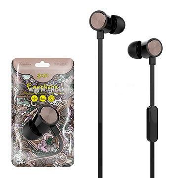 Навушники HF, YK810, Black, HFYK810