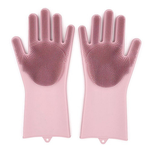 Перчатки многофункциональные, силиконовые, 2шт/упак., MH-3004