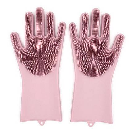 Перчатки многофункциональные, силиконовые, 2шт/упак., MH-3004, фото 2