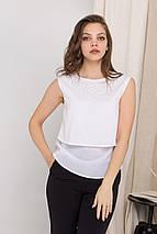 блузку Modus Арома Жемчуг креп шифон блуза 8835, фото 3