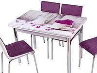 Стол раздвижной обеденный 1021 Vazo 179,набор, кухонный стол и 4 стула.