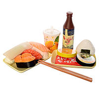 Продукты, набор для суши, посуда, 1831