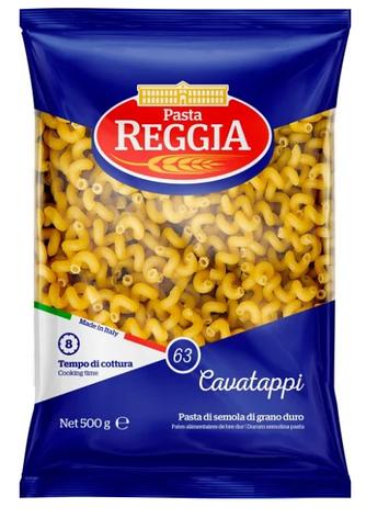 Макарони REGGIA 63, CAVATAPPI, 500г, фото 2