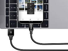 Кабель Baseus Yiven USB-micro USB 2А 1.5 м Черный (CAMYW-B01), фото 2
