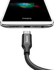 Кабель Baseus Yiven USB-micro USB 2А 1.5 м Черный (CAMYW-B01), фото 3
