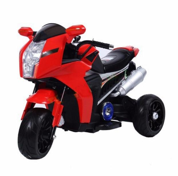 Детский мотоцикл T-7213 EVA WHITE BMW, красный
