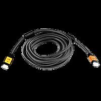 Кабель LogicPower HDMI-HDMI 5,0м, Ver 2.0 (4K/Ultra HD) (5781)