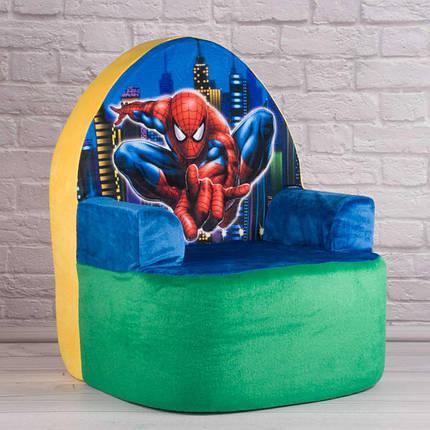 Крісло №9 Спайдермен, 57*40*43см, Копиця, 00812-11, фото 2