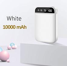 Внешний аккумулятор FLOVEME powerbank 10000mAh 2 порта Цвет Белый
