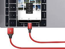 Кабель Baseus Yiven USB-micro USB 2А 1.5 м Червоний (CAMYW-B09), фото 2