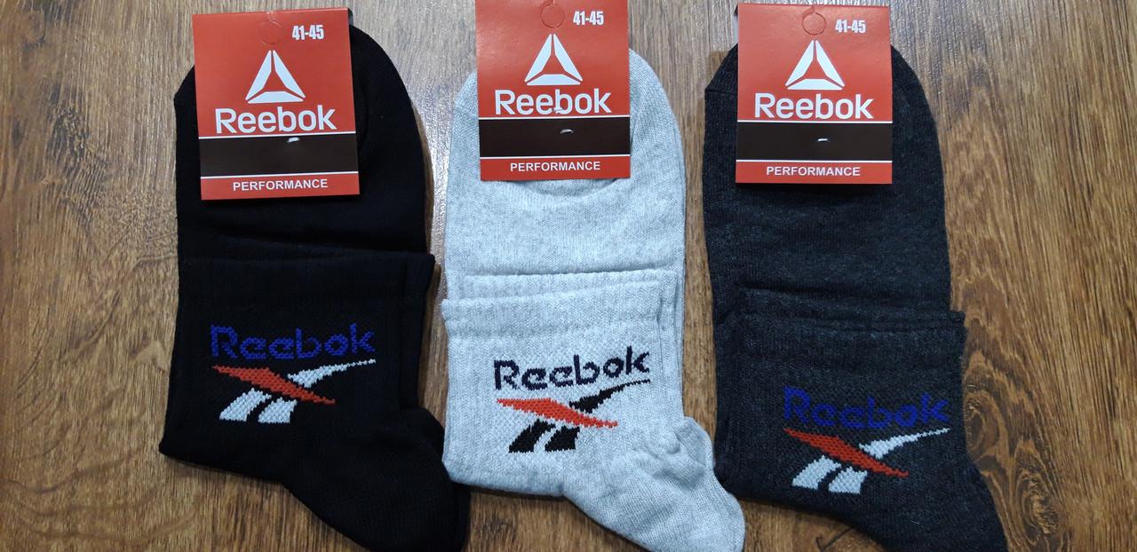 """Чоловічі стрейчеві шкарпетки в стилі """"Reebok W"""" Туреччина 41-45"""