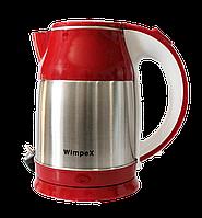Электрочайник Kettle WX 2840 Wimpex Красный