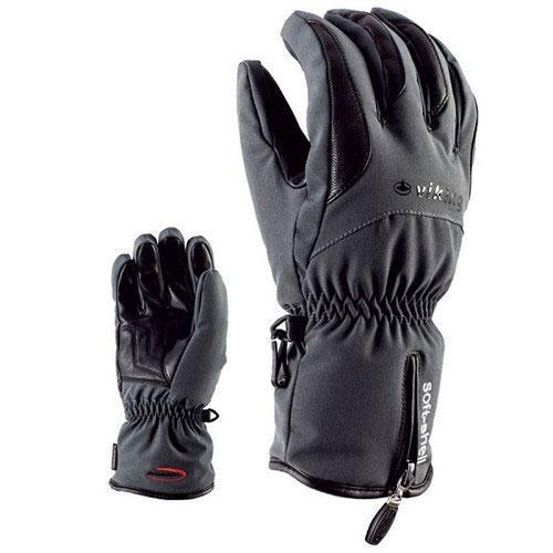 Гірськолижні рукавички Viking Soley сірі | розмір - 6,7,8,9,10