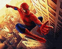 """Картина по номерам """"Спайдермен"""" ★★★"""