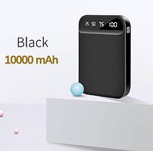 Зовнішній акумулятор FLOVEME powerbank 10000mAh 2 порти Колір Чорний