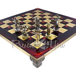 Шахматы «Дискобол», красные, Manopoulos, 36х36 см (088-0703S)