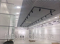 Потолки подвесные  Грильято 75х75