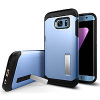 Чехол Spigen для Samsung S7 Edge Tough Armor, Blue Coral (556CS21033)