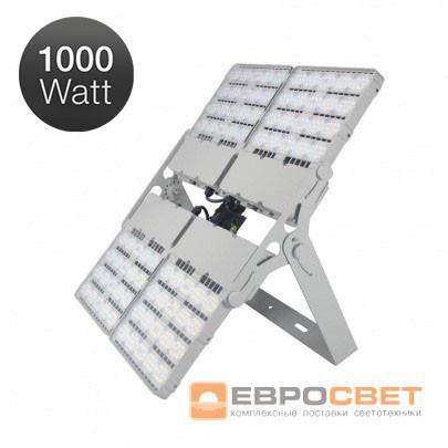 Прожектор Evrosvet LED 1000Вт EV-1000-01 PRO 110000Лм, чипы Philips